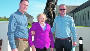 Longford Leader gallery: Bishop O'Higgins statue in Drumlish is unveiled