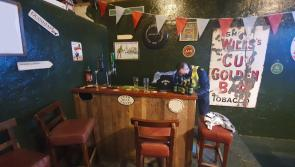 GALLERY:  Gardai raid  Shebeen fitted with a bar, stools, tables, chairs, 70 inch flat screen television and full size pool table
