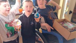 Midlands Áirc delivers Halloween care and activity boxes to Longford families