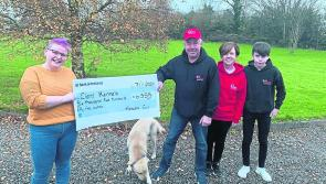 No close shave for Killashee woman who raises over €6,500 for Cian's Kennels