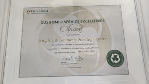 Top award for Granard Knights & Conquests Centre