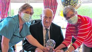 PICTURES | Tributes paid to Longford centenarian Jimmy Caffrey