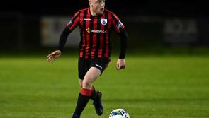Aodh Dervin a leading light for Longford Town in the top flight