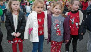 GALLERY | Great excitement as Santa visits Gaelscoil Longfoirt