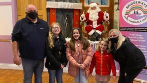 PICTURES   Santa has a socially distanced visit to Bridgeways Family Resource Centre in Ballymahon