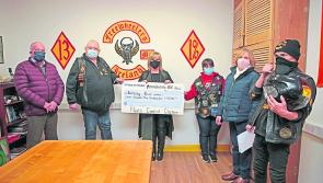 Longford Leader Gallery: Freewheelers raise €4,500 for Bethany House