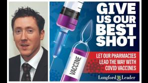 Longford pharmacist throws weight behind Covid-19 #bestshot campaign