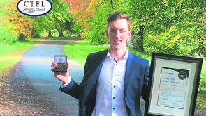 Rising star accolade for Longford's Cian Farrell