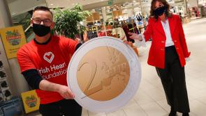 Longford shoppers asked to support Irish Heart Foundation's Valentine fundraising drive