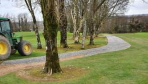 Work completed on joining buggy paths on front nine at County Longford Golf Club