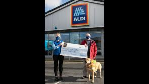 Longford based charity receives €500 donation from Aldi