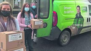 Granard's Lus na Gréine FRC and An Post  deliver over 200 'connect packs'