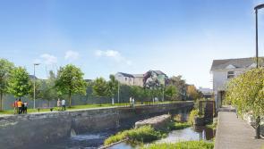 Minister Peter Burke welcomes €14m funding announcement for Longford's Camlin Quarter