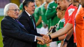 President Michael D. Higgins full of praise for League of Ireland football as new season is about to get underway