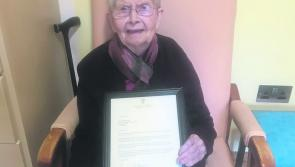Ballymahon  and Mullahoran mourns death of 101 year old Sr Elizabeth Brady who touched the lives of many