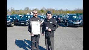 Business All-Star accreditation for Longford's Peter Hanley Motors
