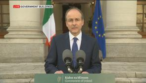 Taoiseach Micheál Martin:  'Steadily, and safely, let's get through the final stretch of this terrible  journey'