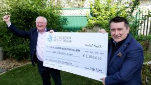 Donate for Dementia campaign raises €1 million for The Alzheimer Society of Ireland