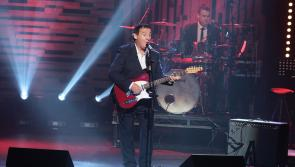 Longford country music legend Declan Nerney performing on tonight's Late Late Show on RTE One