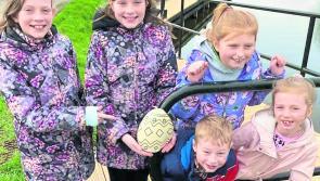 Great parish spirit as Carrickedmond hosts Easter egg hunt and big clean-up