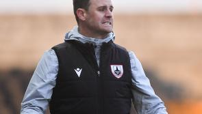 Longford Town manager Daire Doyle disappointed with second half display against Drogheda