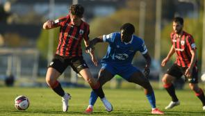 Longford Town take on  the league leaders St Pat's at Richmond Park