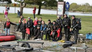 PICTURES | County Longford Scuba Divers carry out massive cleanup of local waterways