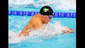 Longford'sDarragh Greene swimming in European semi-final tonight