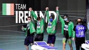 Longford's Gerry Quinn produces superb swim for Ireland's freestyle relay team in European final