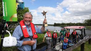National Lottery Good Causes Awards journey ends in glory for inspiring Lough Ree Access for All Boat project team