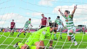 Late, late goal heartbreak for Longford Town as Shamrock Rovers snatch win