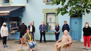 Ballymahon Tidy Towns unveils outdoor seating