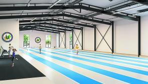 The birth of a fantastic facility for Longford Athletics Club