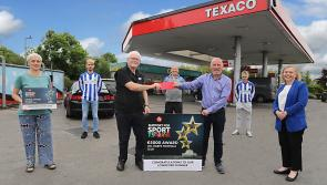 Longford's UCL Harps receives €5,000 Texaco Support for Sport Funding boost