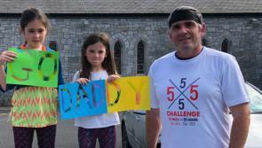 Longford's mighty marathon man Mark Smith raising funds for LauraLynn