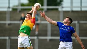 Longford in control against Carlow despite some anxious moments