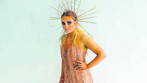 Cnoc Mhuire Granard's incredible 'Save This Image' design announced as Junk Kouture Grand Finalist