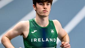 Longford's Cian McPhillips set for the European Under 20 Athletics Championships