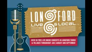 Four more Longford Live and Local gigs this weekend