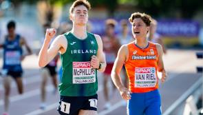 Longford's class act Cian McPhillips wins Gold medal and crowned European U-20 1500m champion