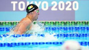 Longford Olympian Darragh Greene misses out on a place in the semi-finals of the 200m Breaststroke