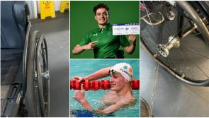 Longford Paralympian Patrick Flanagan 'gutted' as wheelchair destroyed on flight to Tokyo