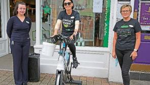 Static cycle raises €1,000 for Longford's St Joseph's Care Centre