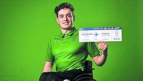 Longford's Patrick Flanagan swimming for Ireland at Tokyo Paralympics