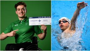Longford swimmer Patrick Flanagan in action on Day 9 of Tokyo 2020 Paralympic Games