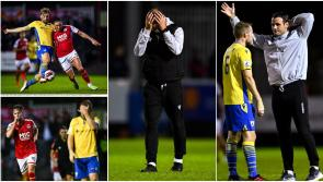 No lack of effort or spirit as Longford Town succumb toSt Patrick's Athletic in SSE Airtricity League