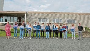 Longford Leader gallery: Ellen and Ciaran named joint winners of Cnoc Mhuire Granard's coveted Jubilee Cup
