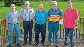 Longford Leader gallery: Latin School past pupils reminisce former glories at golf day