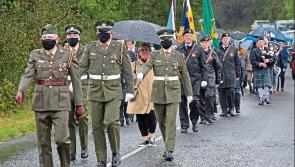 Rain fails to dampen spirits as centenary of Clonfin Ambush commemorated