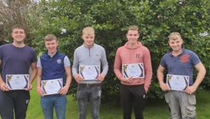 PICTURES   Granard teens praised in annual Garda Youth Awards